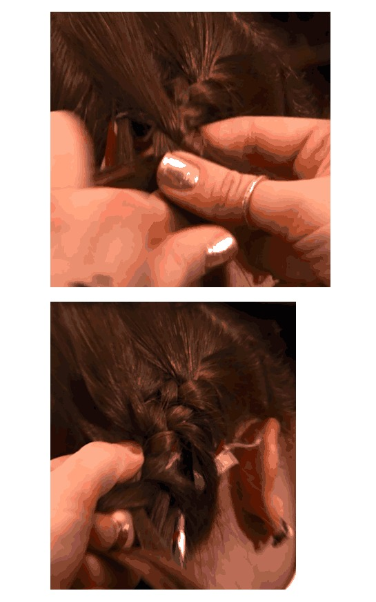 How-to Get The Biathlon Braid At Home with P&G Beauty!  #SochiGlam