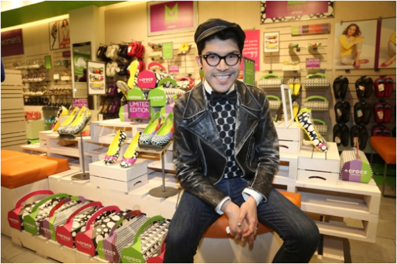 The Mondo Guerra for Crocs Line Launches! To celebrate we're giving away a PAIR of Women's Crocs! (Be STYLISH Without Suffering!)
