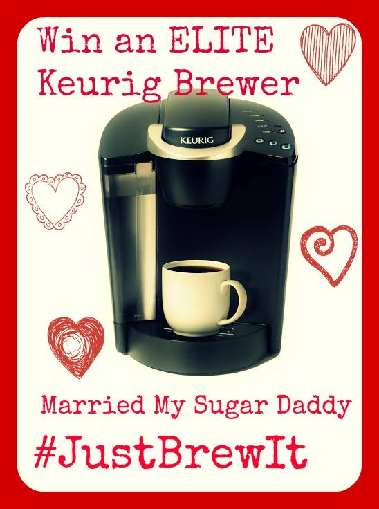 Win an ELITE Keurig Brewer from MarriedMySugarDaddy.com
