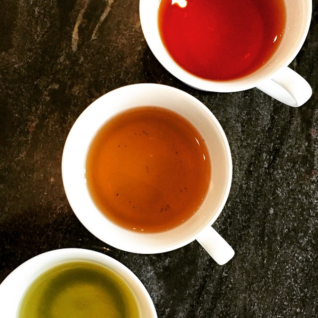 Earl Grey, Genmaicha, & Mint tea from Langham Place's Modern Afternoon Tea happening every Saturday 2-5pm