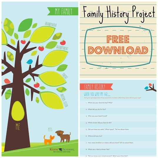Celebrate Grandparent's day with this (TOTALLY NOT BORING) Hands-on Family History Project