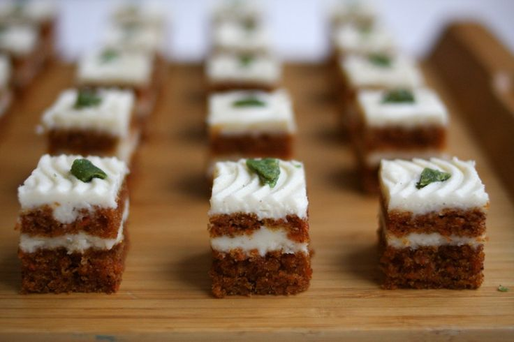 kids will LOVE these Carrot and Ginger Squares