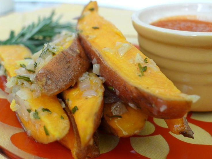 Baked Sweet Potato Fries #Recipe Recipe