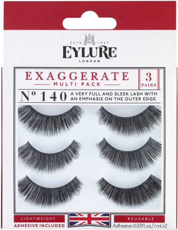 Or try some false lashes for a more dramatic glam look, my favorite are Eylure Exaggerate #140.