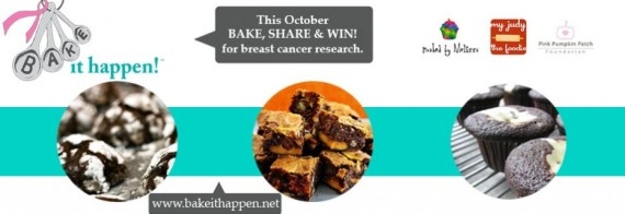 This October JUST DO IT: Bake It Happen