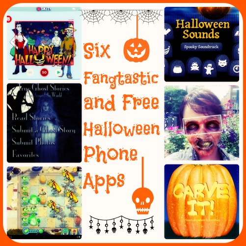 Six Fangtastic and Free Halloween Phone Apps