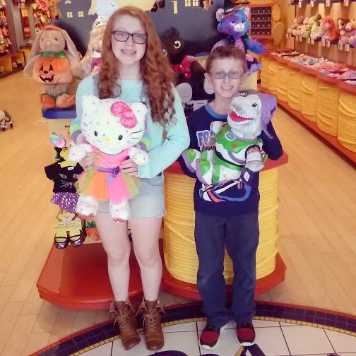 Tips and Tricks to get Crafty with the kids and a Build-A-Bear $40 Giveaway