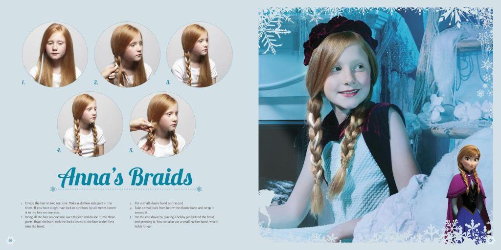 Get the look: Anna's Braids