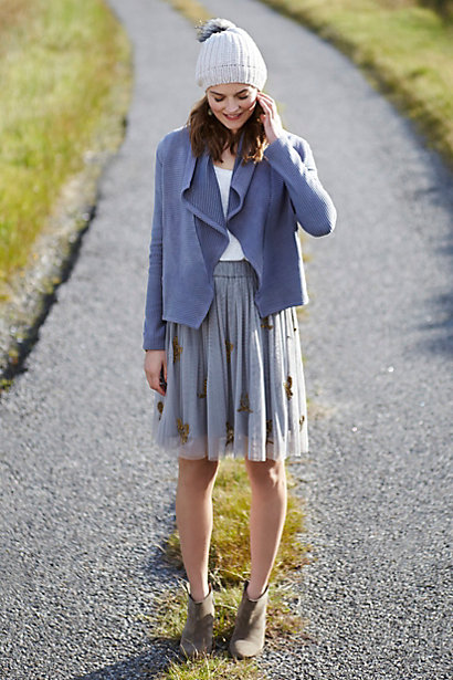 Sparked Tulle Skirt by Moulinette Soeurs at Anthropologie