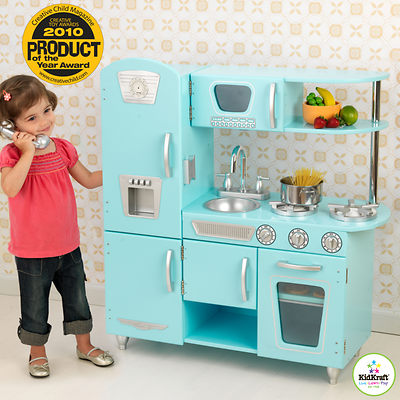 KidKraft Vintage Play Kitchen - Light Blue