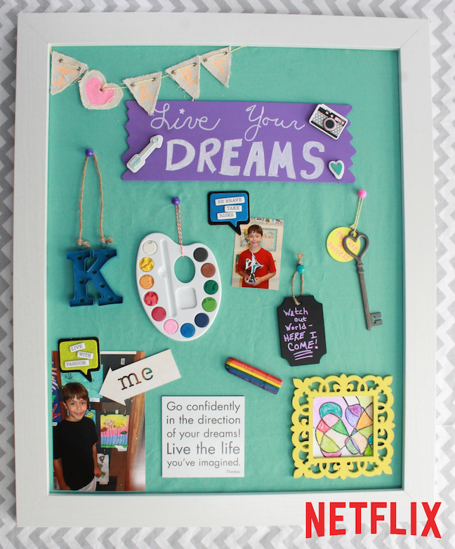 "DIY ""Create Your Own Destiny"" Vision Board – Netflix"