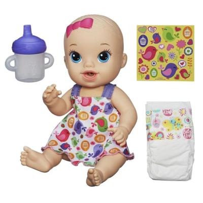 Baby Alive dolls bring love and joy to life for your little girl. She can enjoy a realistic nurturing experience while feeding Baby Alive dolls that eat and drink, and then changing their diapers to keep them clean and dry. Baby Alive also offers baby dolls with a great variety of other play scenarios and accessories that will engage a little girl's imagination. Win one at http://www.thestatenislandfamily.com