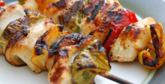 Healthy Lemon Chicken Kebab Recipe