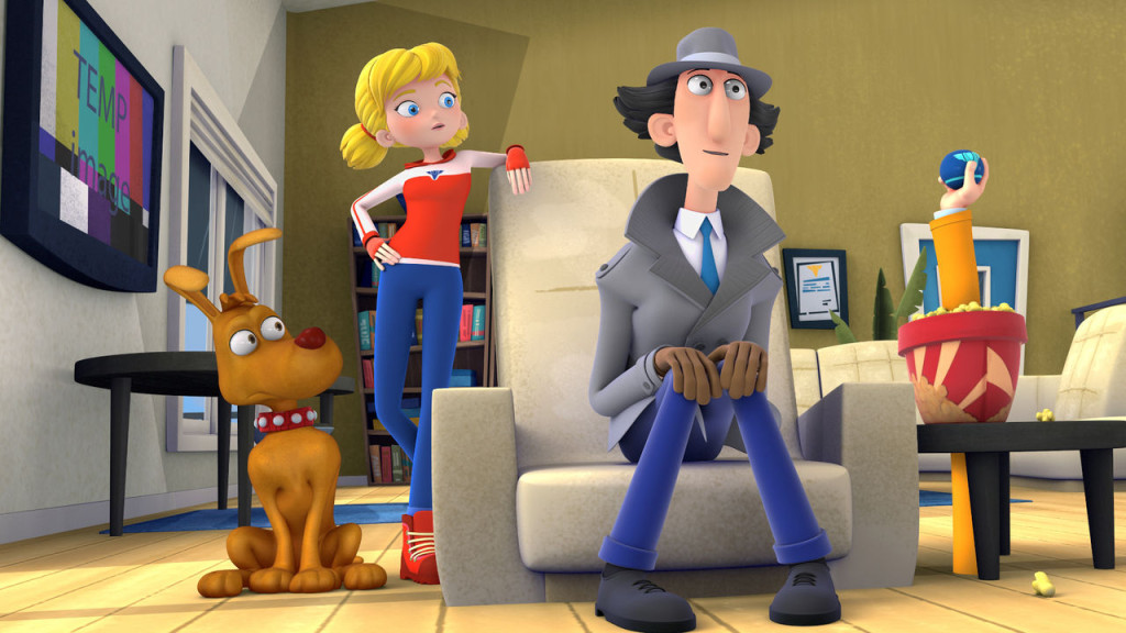 Parents can share your love for their RETRO childhood cartoon Inspector Gadget with their kids thanks to netflix