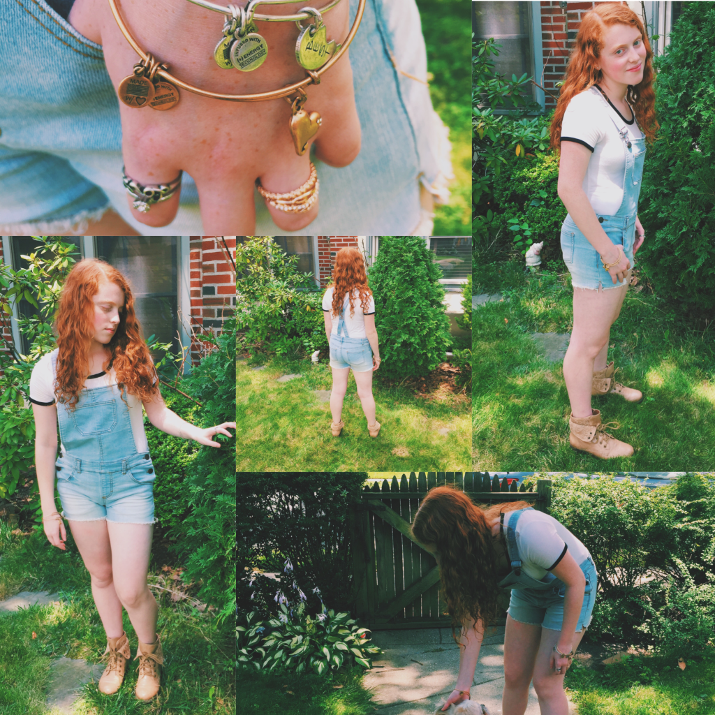 ison: Girly Casual Look for Back to School