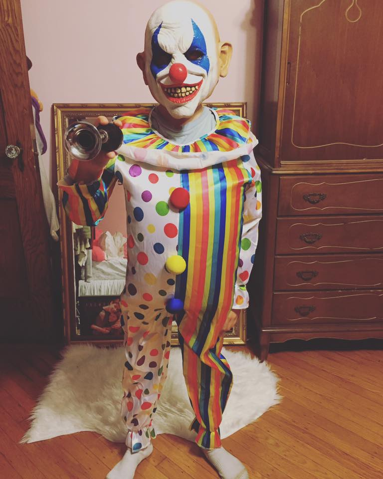 My Son Created his Twisty The Clown Costume Thanks to Chuze and Party City