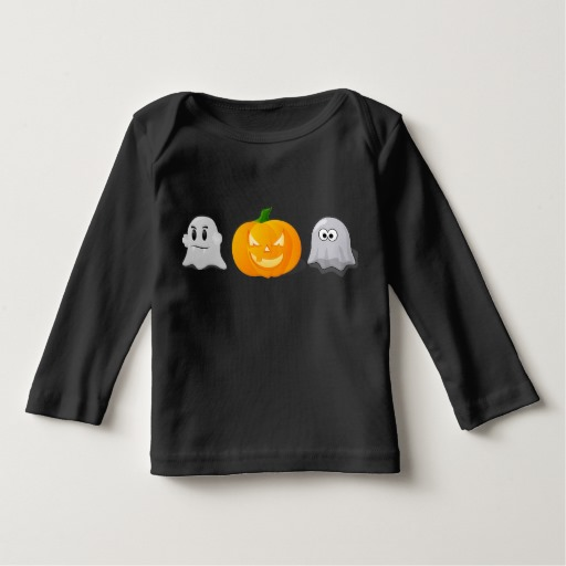 Order some spookalicious T-shirts from zazzle and have some permanent markers on hand and cute stickers for kids to personalize their shirts!