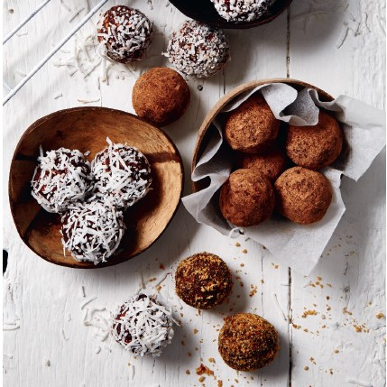 Recipe for Coconut Cacao Truffles