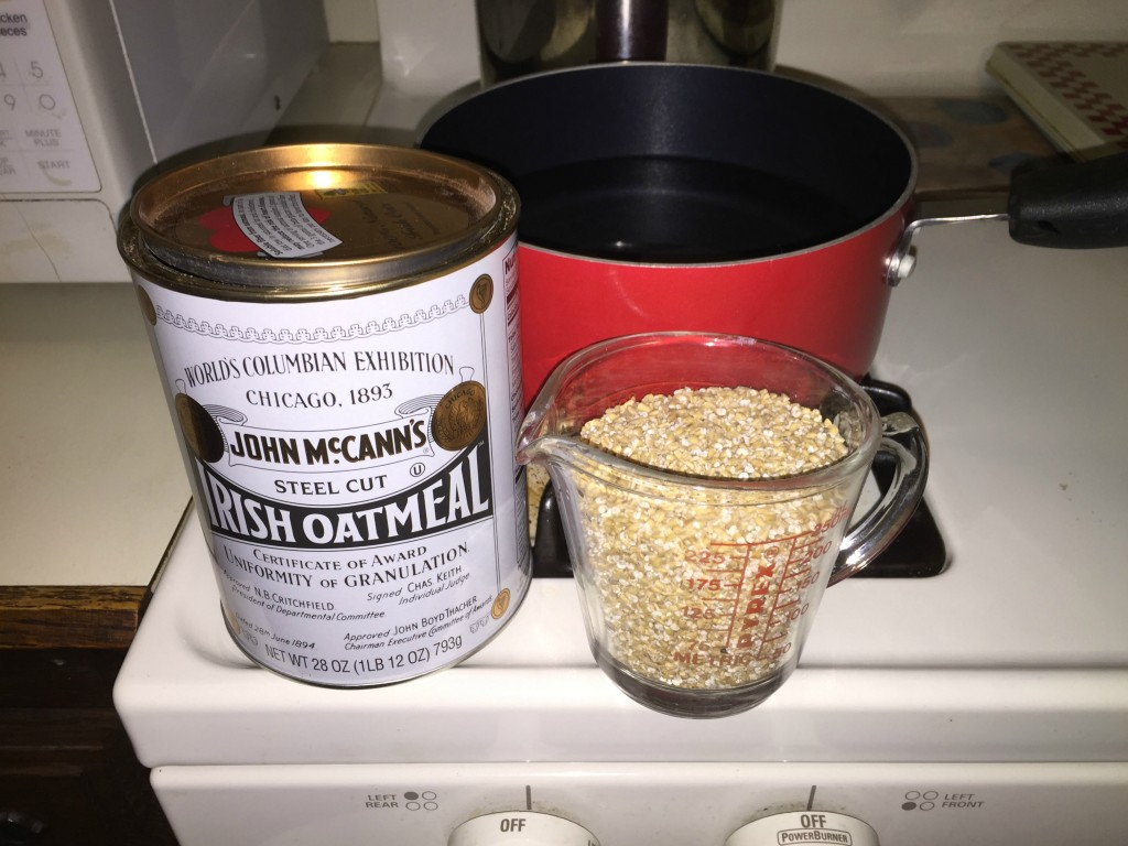 Irish oats are all kinds of special