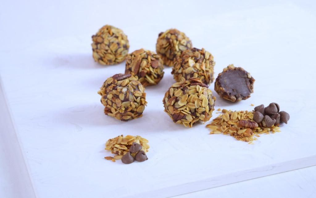 Homemade Granola Truffles