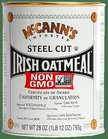 Crushworthy Breakfast Dishes: McCann's Steel Cut Irish Oats® and a $25 Visa Giveaway