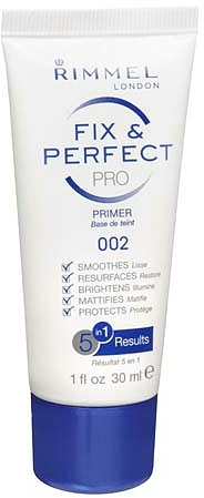 Rimmel London Fix & Perfect Pro Primer