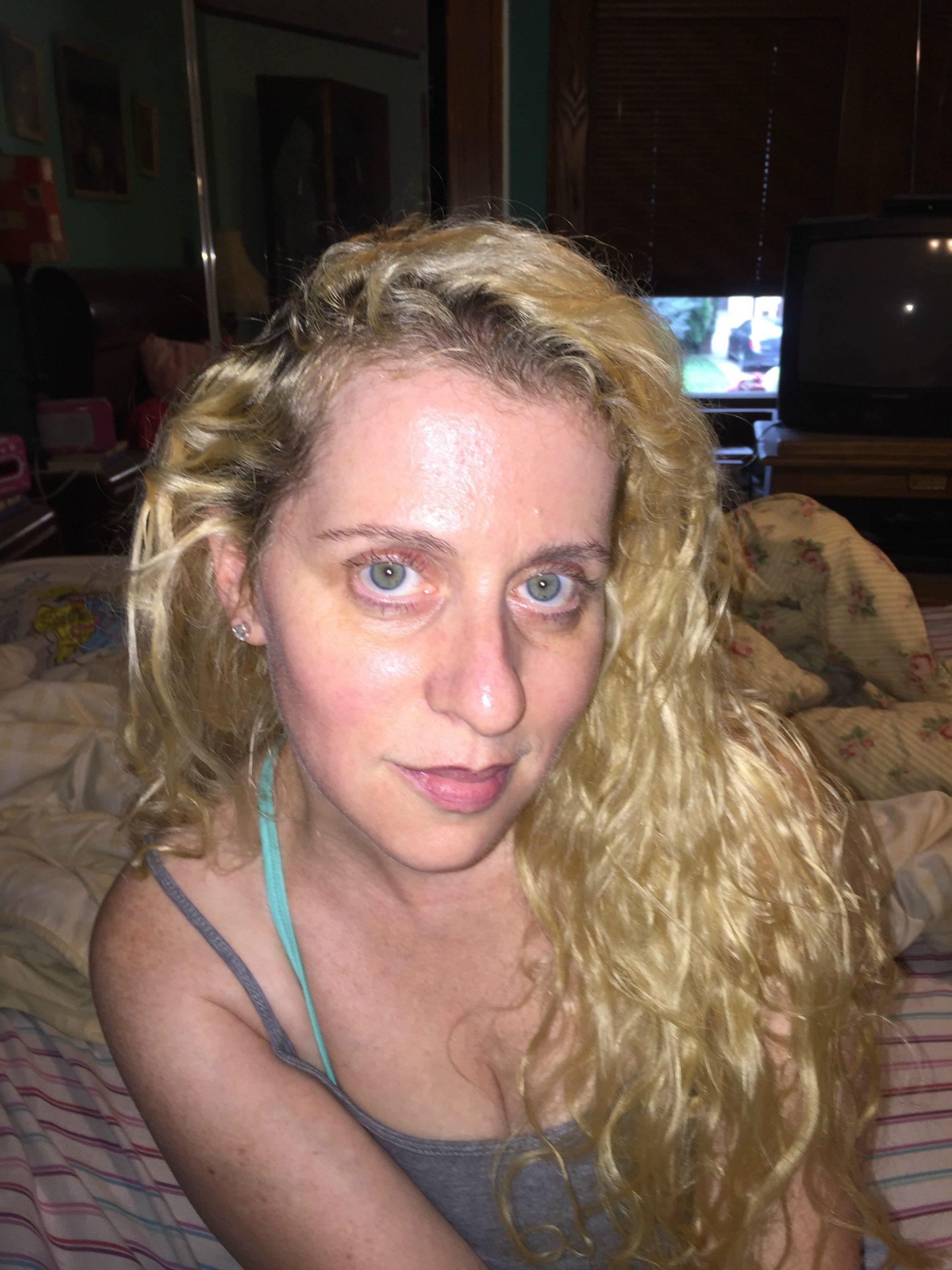 Day five of my Neutrogena Rapid Wrinkle Repair photo diary