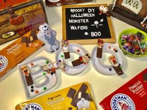 DIY Halloween Monster Wafers ANYONE can make!
