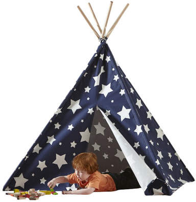 Allow your childs imagination to run free in their new home away from home. The indoor childrens teepees will keep your kids entertained for long periods of time and will avoid the mess of having them build their own fort. These teepees are very well crafted. Made of eucalyptus hard wood and complete with a cotton canvas, which includes a 2-flap front opening, they are perfect for a bedroom, living room or playroom