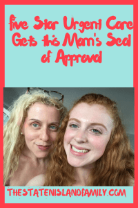 Five Star Urgent Care Gets this Mom's Seal of Approval