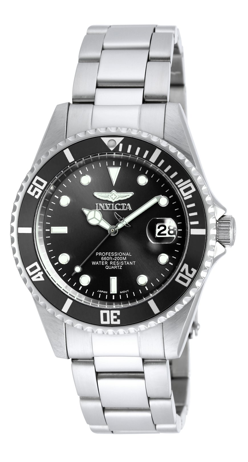 Sophisticated/Office Dad:  As I'm concerned we are all sophisticated in our own way but this guy likes the ballet and opera, give him a museum and he is there with his headset on, and he can help with homework like no other. Give him the Invicta Men's Stainless Steel Watch - Pro Diver Coin Edge Bezel Black