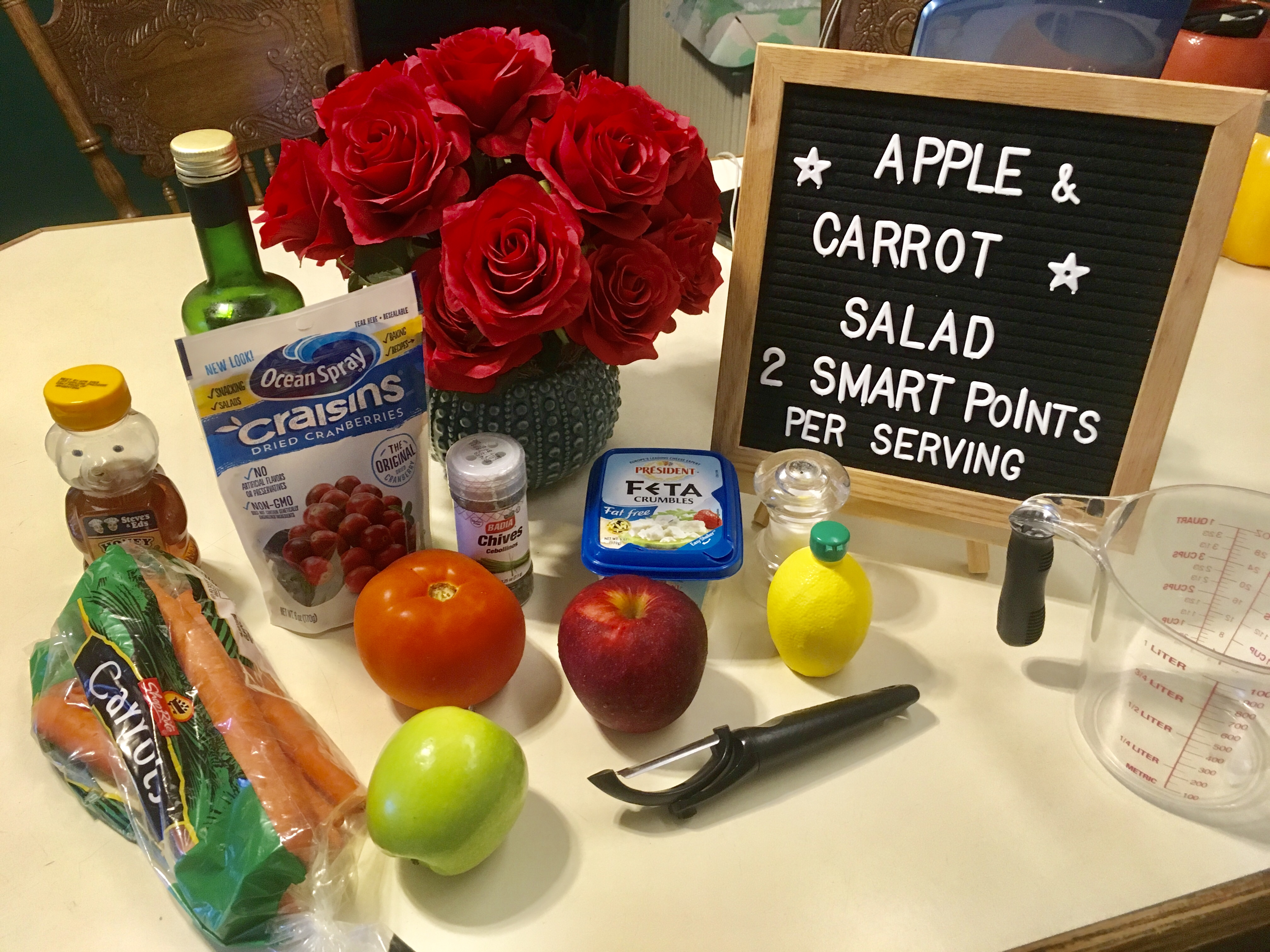 Apple and Carrot Salad just 2 smart points per serving