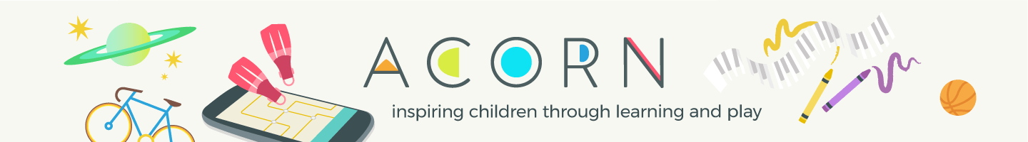 Get theAcornAPP and Kick Start your child's Creative Juices