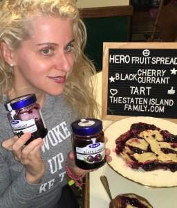 This Vegan Hero Fruit Black Cherry and Black Currant Tart Recipe is DELISH