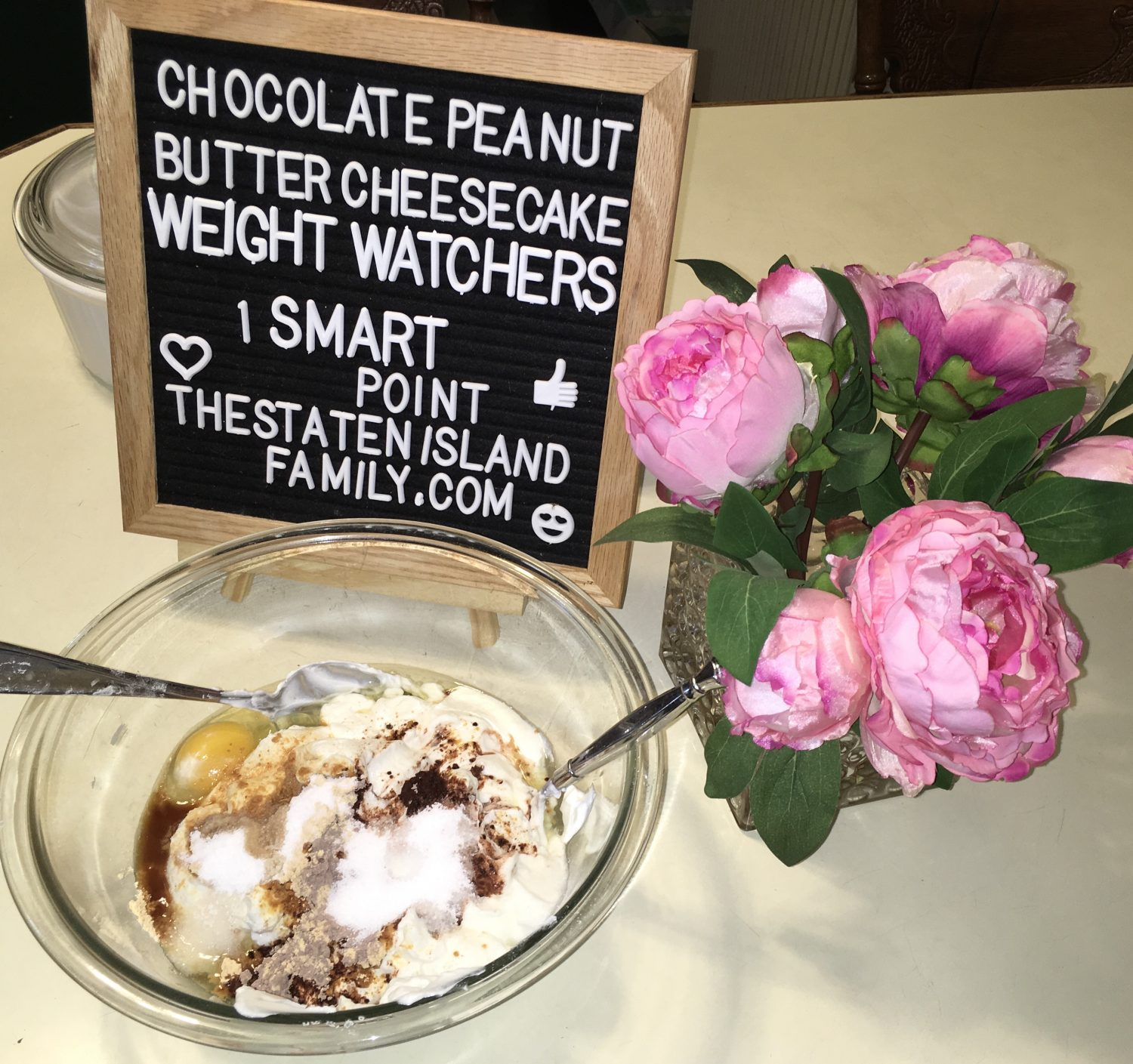 Weight Watchers Chocolate Peanut Butter Cheesecake Recipe One Smart Point Per Serving