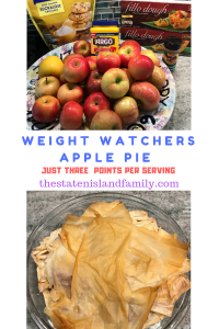 Weight Watchers Apple Pie Recipe