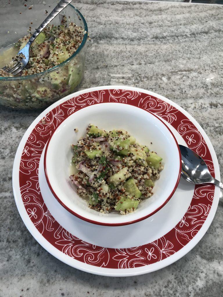 Weight Watchers Easy Quinoa Salad Recipe