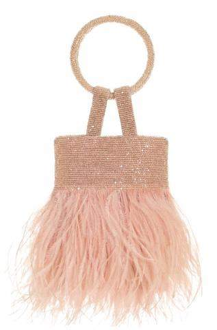 The lulu bag is delicate and timeless option for evening.
