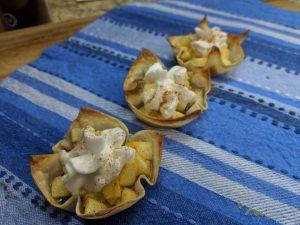 Weight Watchers Apple Wonton Desserts