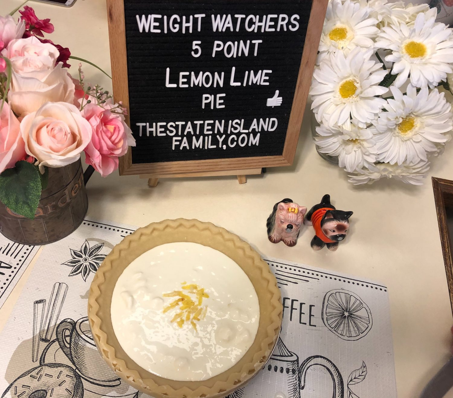 Weight Watchers Lemon Lime Pie