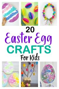 20 Easter Egg Crafts For Kids