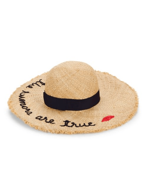 Never underestimate the power of a great accessory! Hair not cooperating and you have to be at your summer soiree? There is nothing like a great hat to cover not so great hair! Whether you're lounging poolside or spending the day in the city, This Kate Spade embroidered hatis the perfect summer accessory.