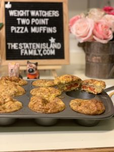 Weight Watchers Pizza Muffins