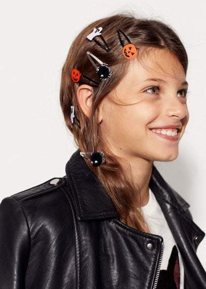 MANGO KIDS - Halloween hair clip set