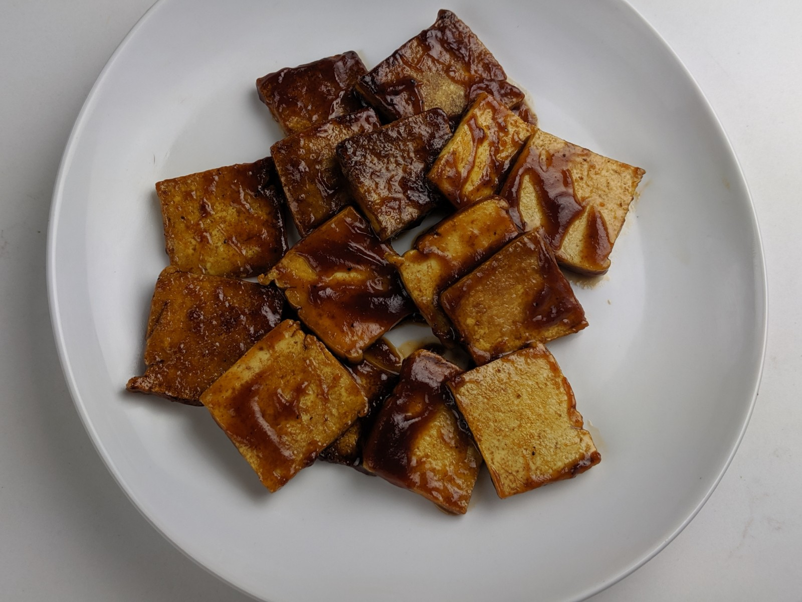 BBQ Crispy Tofu Recipe