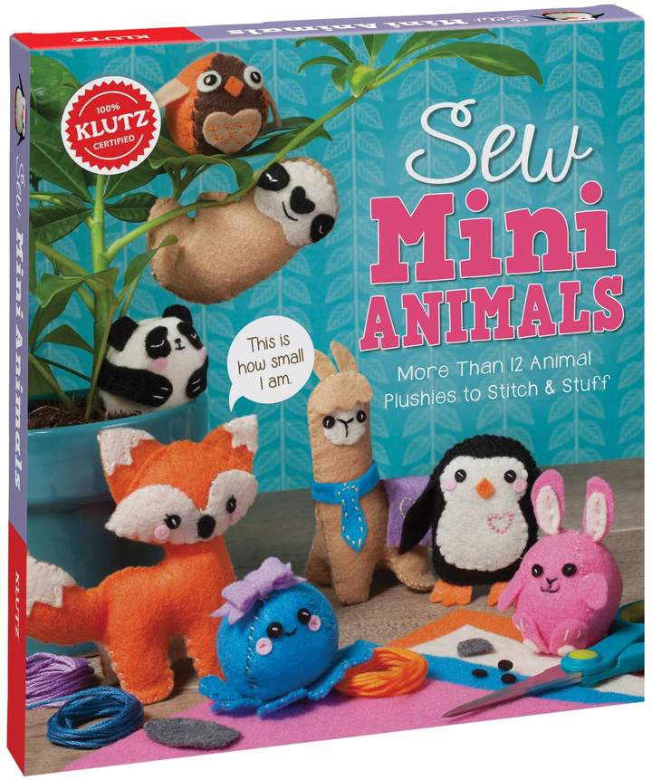 Stitch and stuff an assortment of fuzzy animals from felt. These mini plushies deliver full-size fun, and everything you need to make more than 12 animals is included. Add extra accessories like hats, bows, and glasses to personalize your animals.