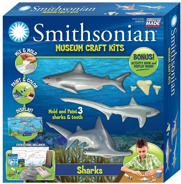 Smithsonian Craft Kits 'Smithsonian Museum - Sharks' Craft Kit