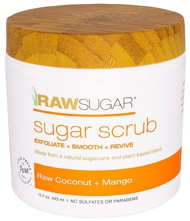 This rejuvenating recipe of hydrating coconut and soothing mango is a fan favorite! Nature-made, our skin-softening formula of raw sugar and Cold Pressed enzyme-rich fruit oils gently exfoliates and leaves a soft protective moisture veil. Skin is left revived, glowing, and vibrantly scented.