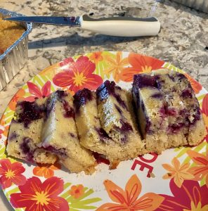 Weight Watchers Blueberry Pan Cake