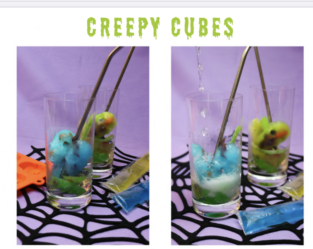 Creepy Cubes A devilishly sweet and and fun activity that is simple!